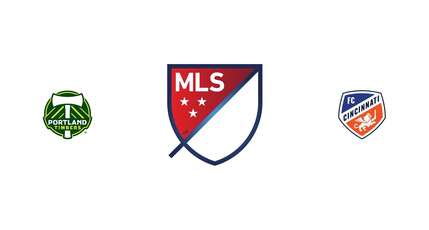 Portland Timbers vs Cincinnati MLS