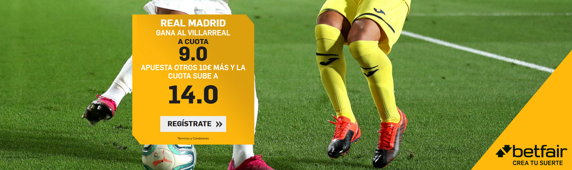 Real Madrid vence a Villarreal