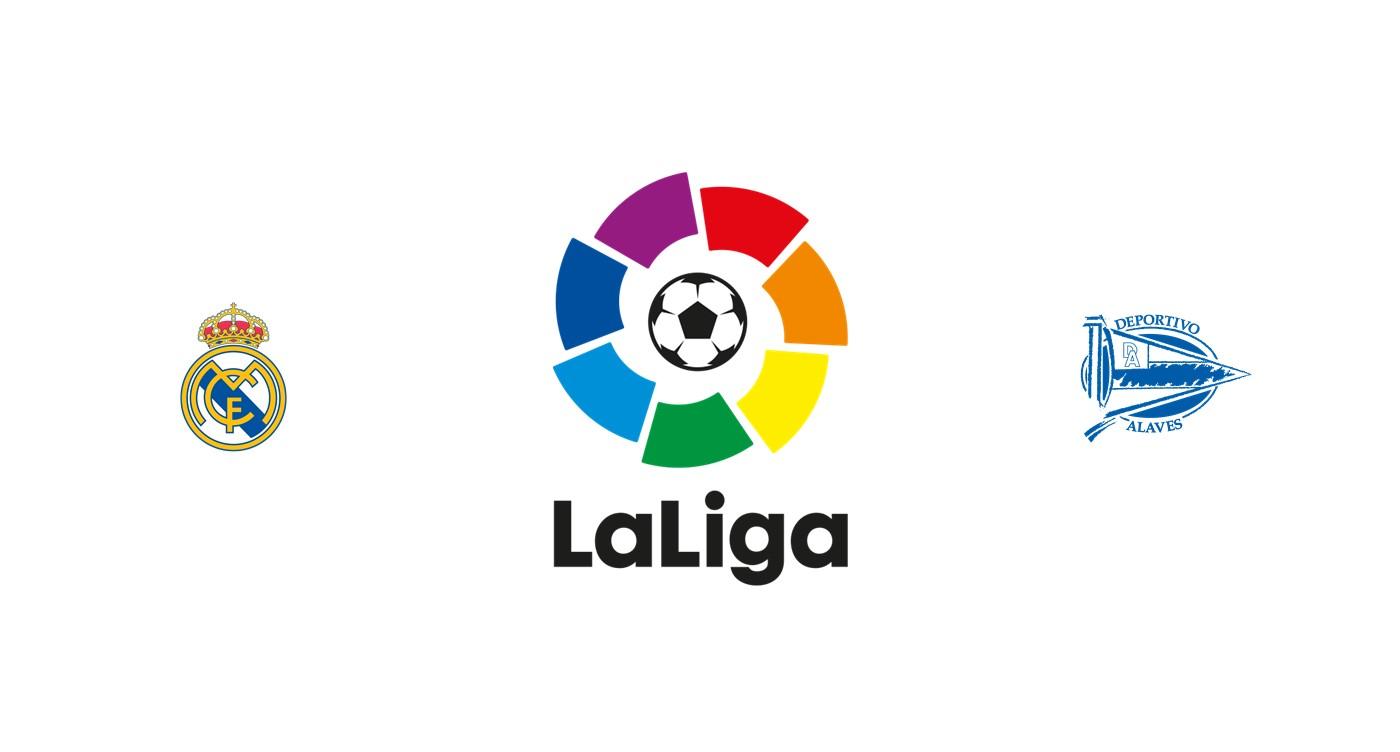 Real Madrid vs Alavés Liga española