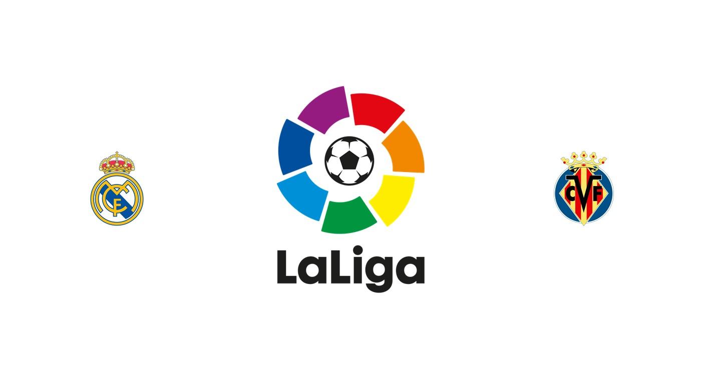 Real Madrid vs Villarreal Liga Santander