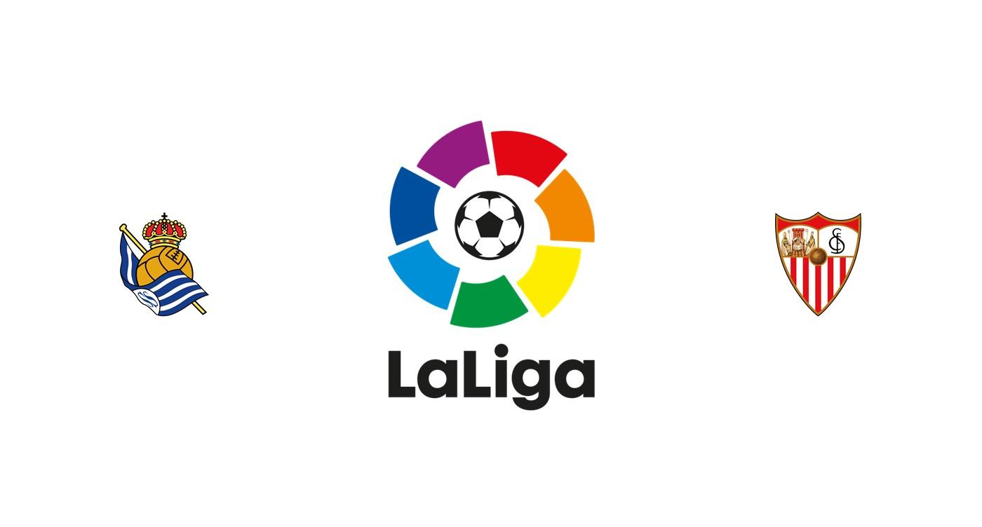 Real Sociedad vs Sevilla Liga Santander