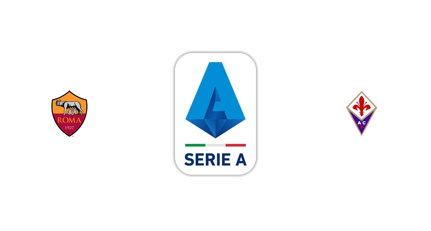 Roma vs Fiorentina Liga italiana