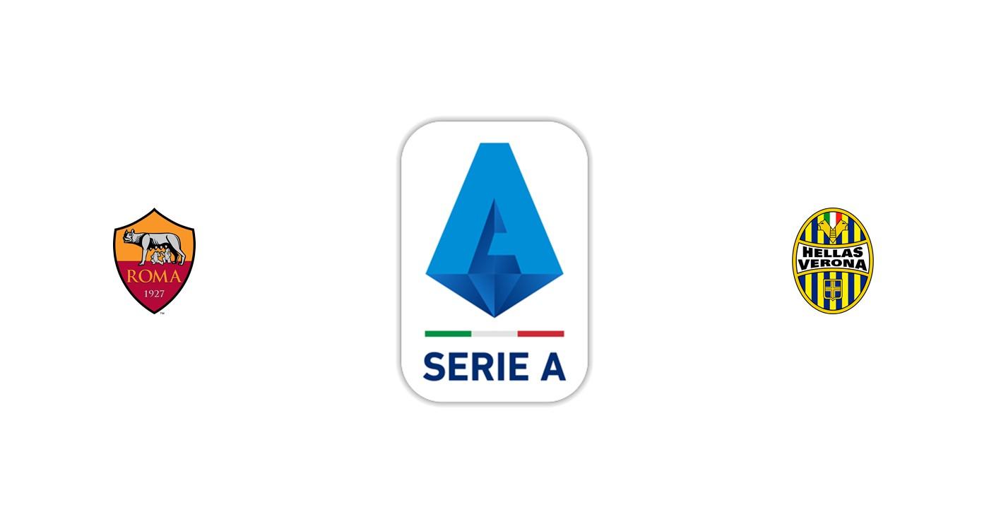 Roma vs Hellas Verona Liga italiana