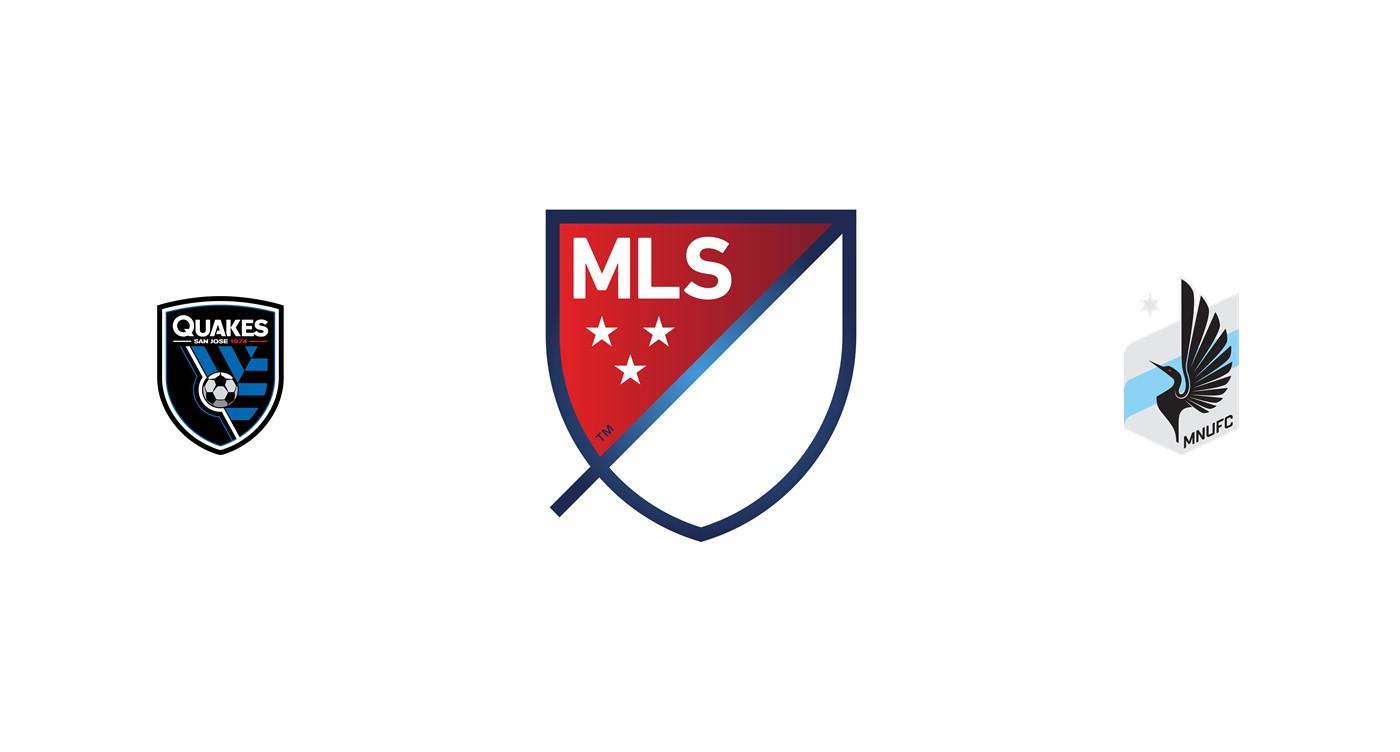 San Jose Earthquakes vs Minnesota United MLS