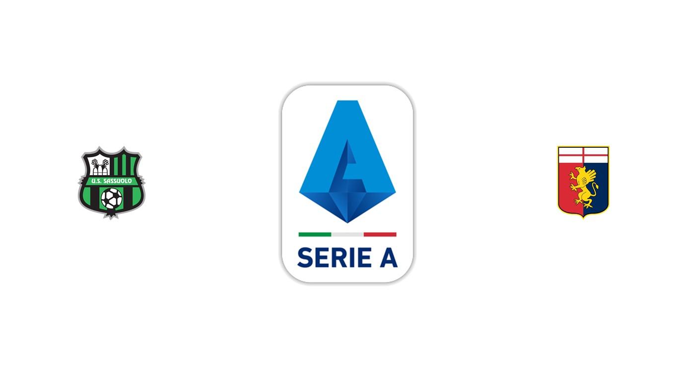 Sassuolo vs Genoa Liga italiana