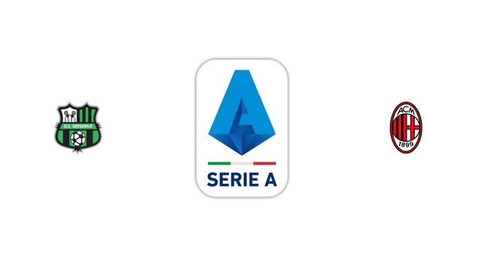 Sassuolo vs Milan Previa, Predicciones y Pronóstico