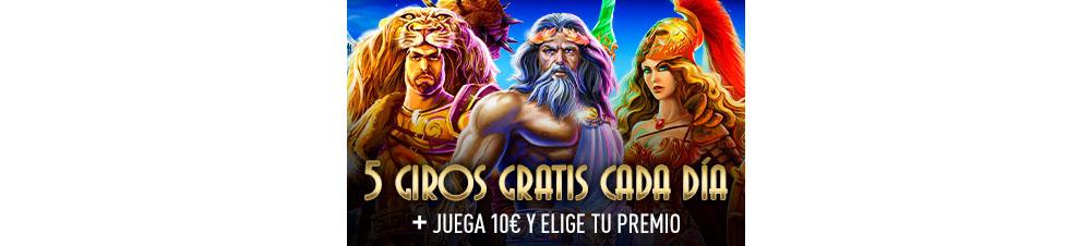 Semana de los Dioses en Sportium Casino