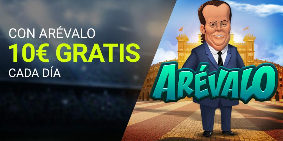 Slots Arevalo 10€ gratis