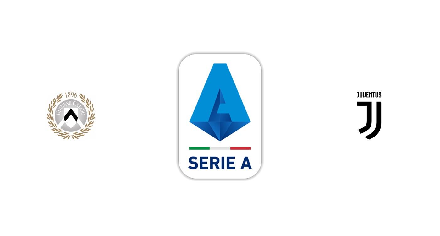 Udinese vs Juventus SerieA