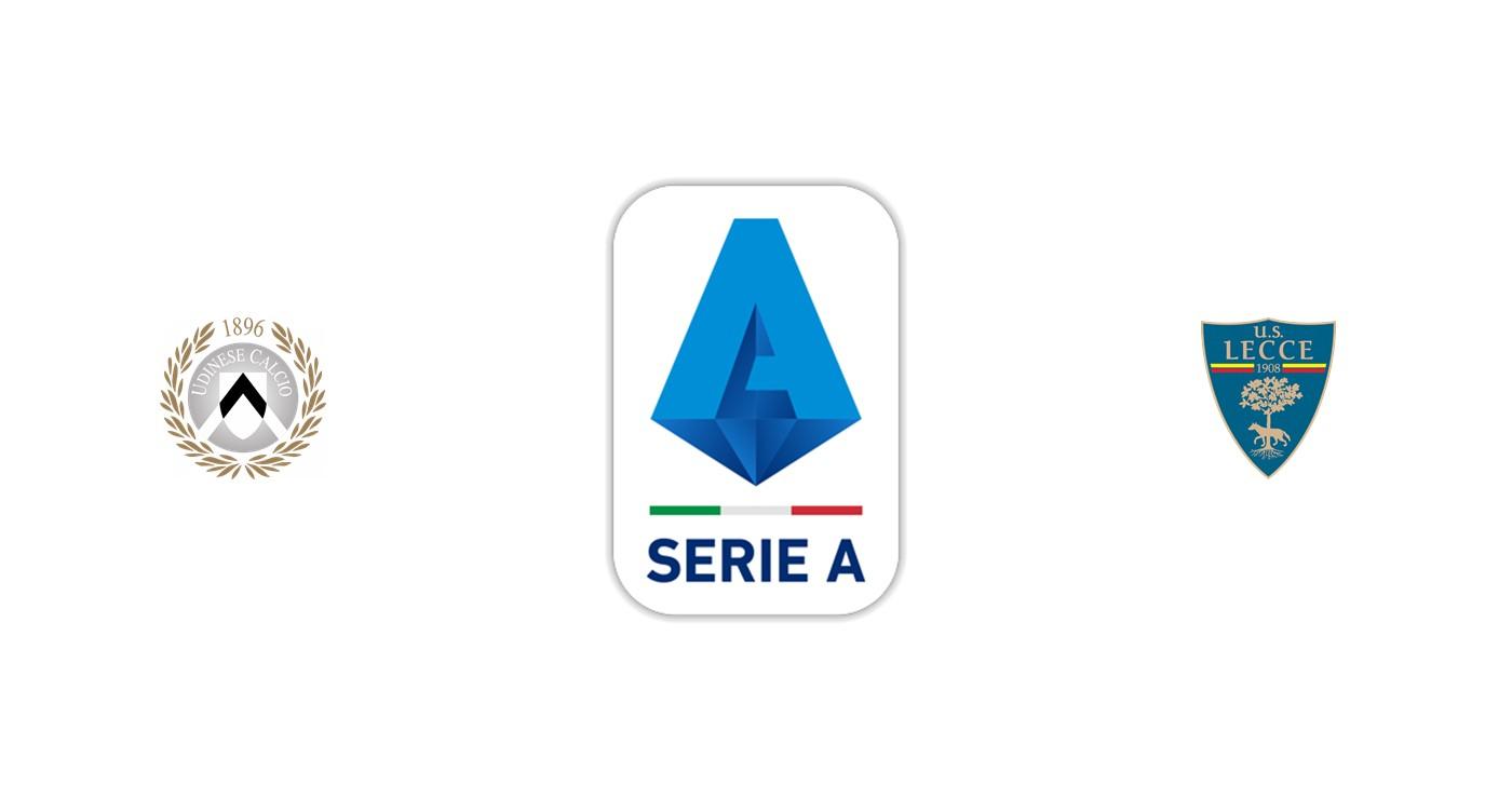 Udinese vs Lecce Liga italiana