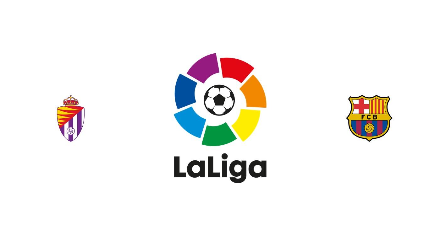 Valladolid vs Barcelona Liga española