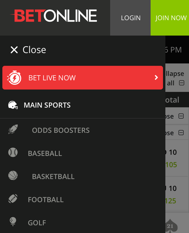 BetOnline app