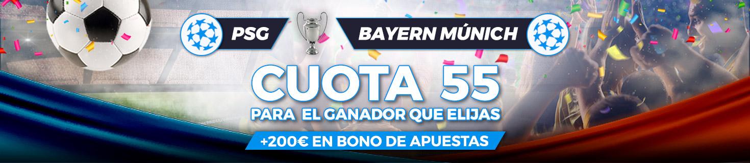 Megacuota Paston Final UEFA Champions League 2020