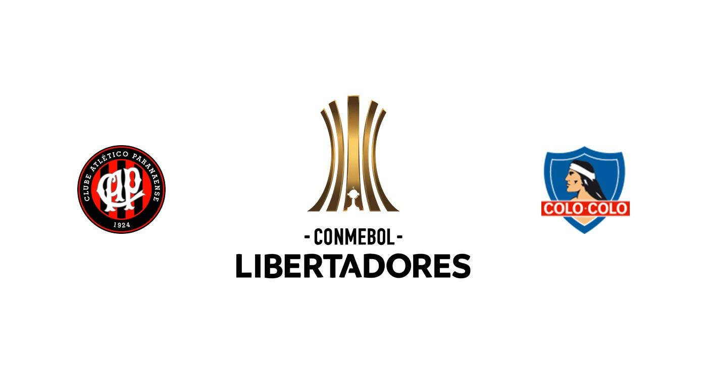 Atletico Paranaense vs Colo Colo