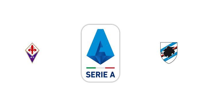 Fiorentina vs Sampdoria Previa, Predicciones y Pronóstico