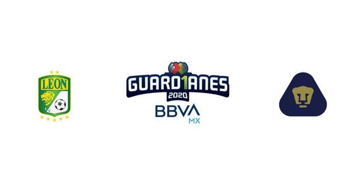 León vs Pumas UNAM Previa, Predicciones y Pronóstico 22/09/2020