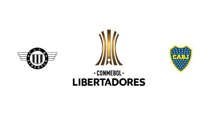Libertad vs Boca Juniors Previa, Predicciones y Pronóstico
