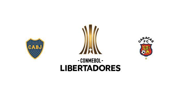 Boca Juniors vs Caracas FC Previa, Predicciones y Pronóstico