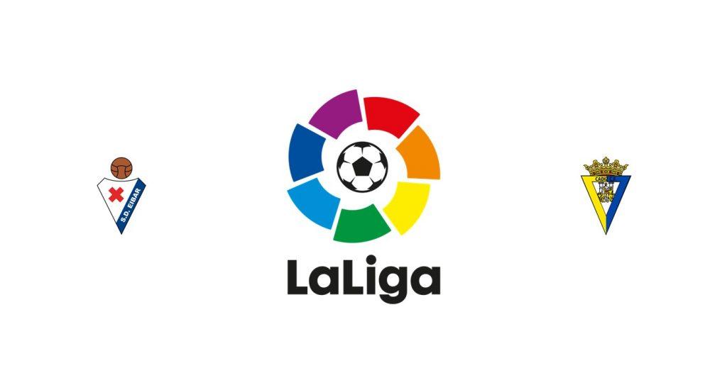 Eibar vs Cádiz Palace Previa, Predicciones y Pronóstico