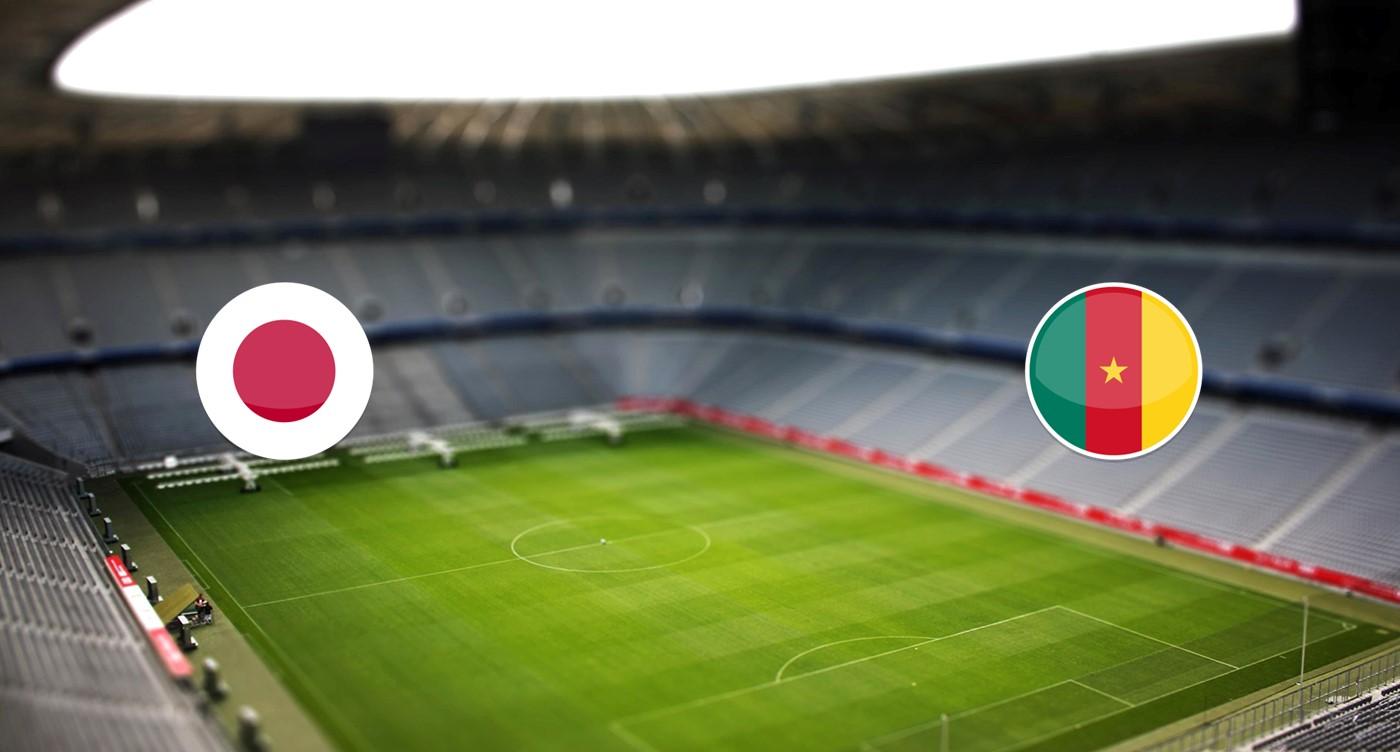 Japón vs Camerún