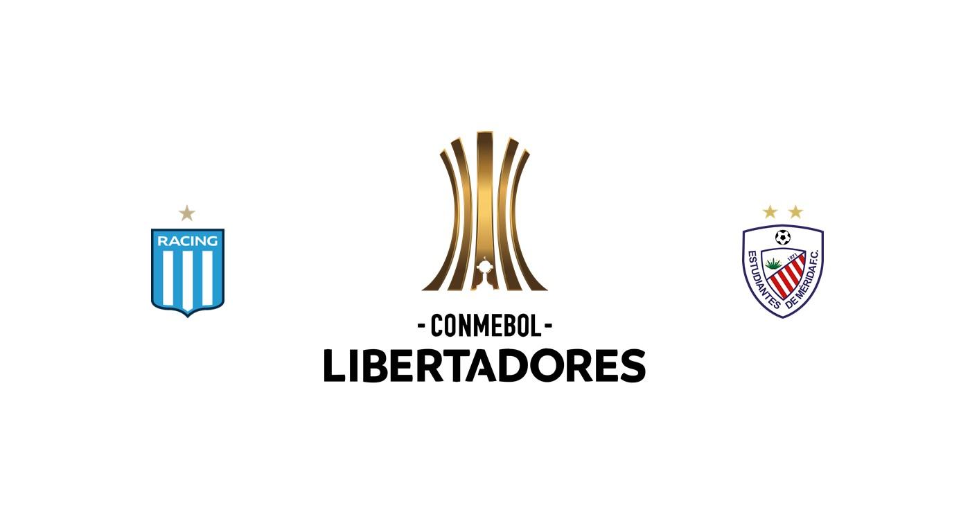 Racing Club vs Estudiantes de Mérida