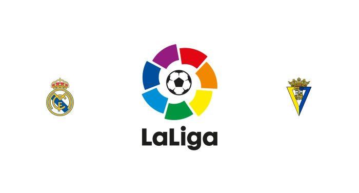 Real Madrid vs Cádiz Previa, Predicciones y Pronóstico
