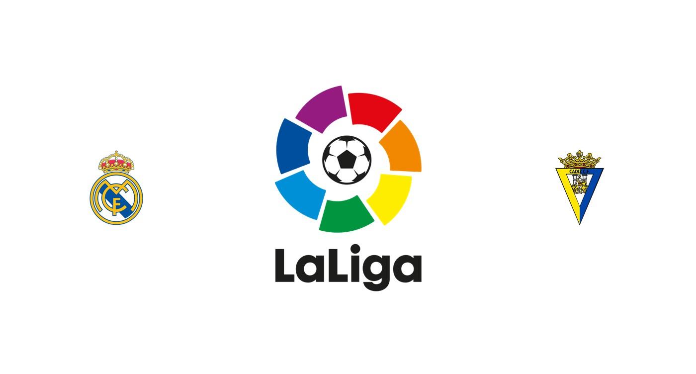 Real Madrid vs Cádiz