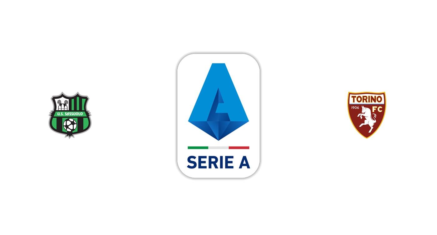 Sassuolo vs Torino