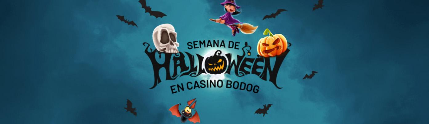 Semana de Halloween en Bodog casino