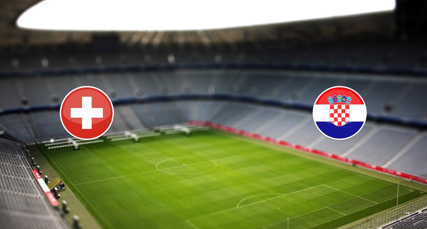 Suiza vs Croacia