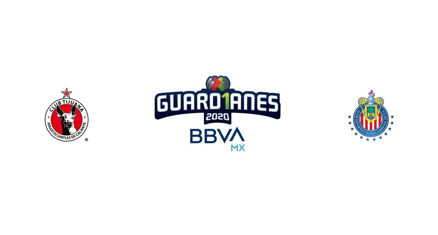 Tijuana vs Chivas