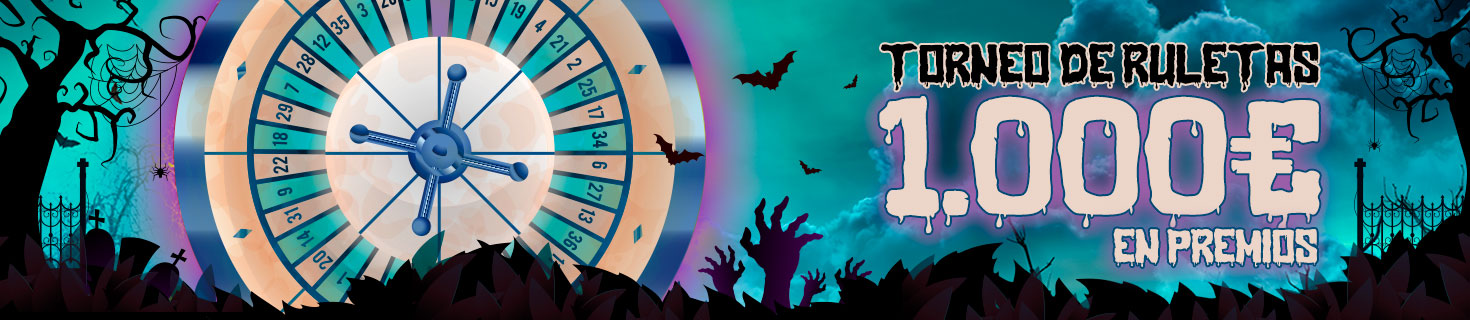 Torneo de Ruletas especial Halloween Paston