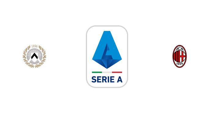 Udinese vs Milán Previa, Predicciones y Pronóstico