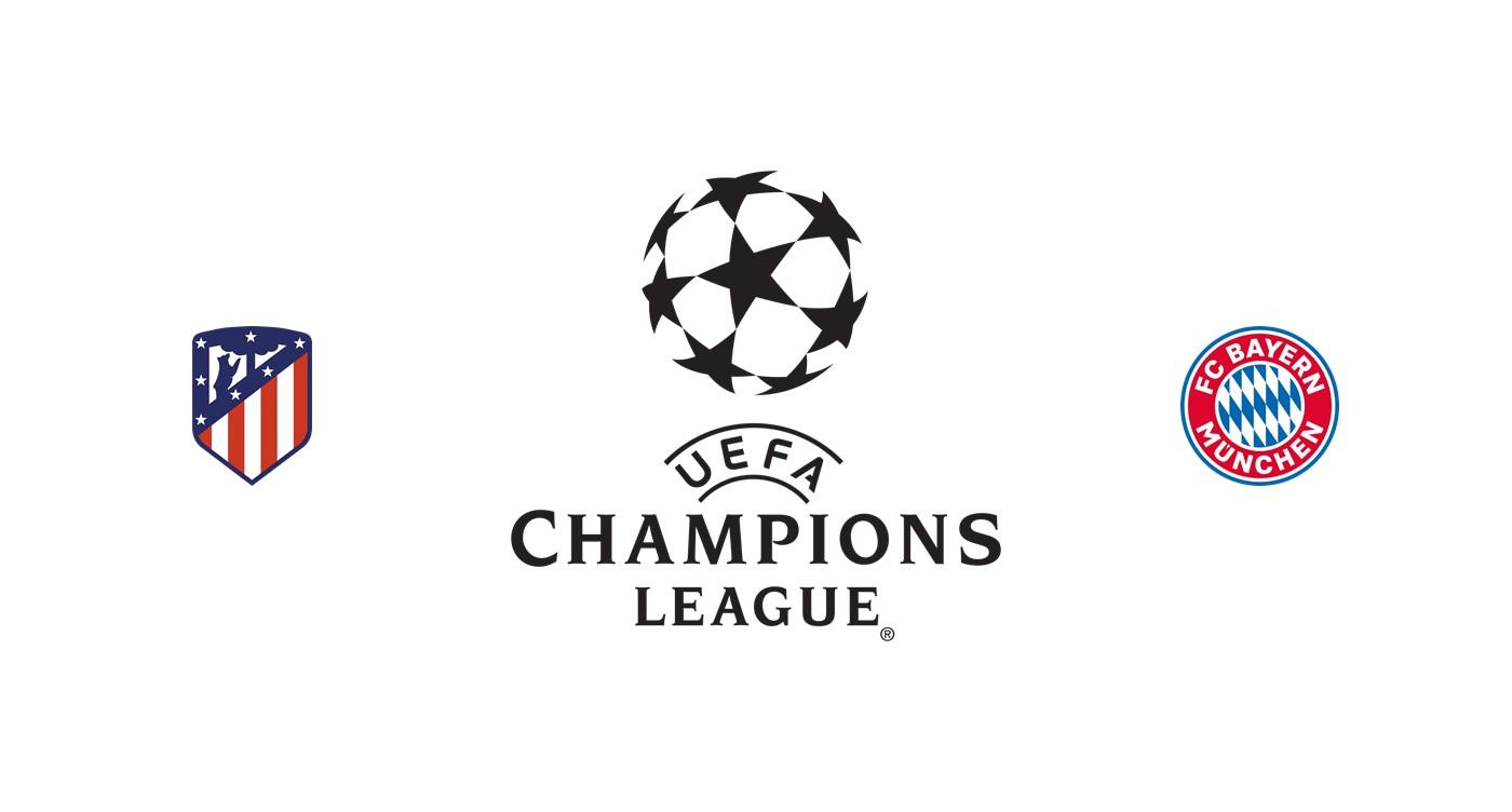 Atlético Madrid vs Bayern Múnich