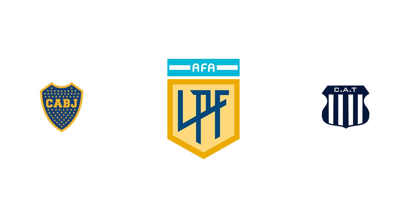 Boca Juniors vs Talleres