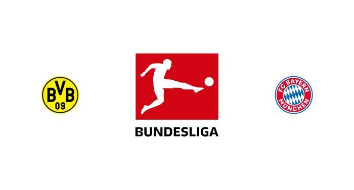 Borussia Dortmund vs Bayern Múnich Previa, Predicciones y Pronóstico