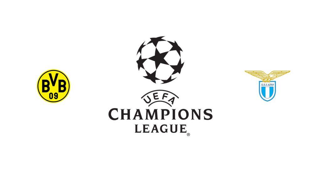 Borussia Dortmund vs Lazio Previa, Predicciones y Pronóstico