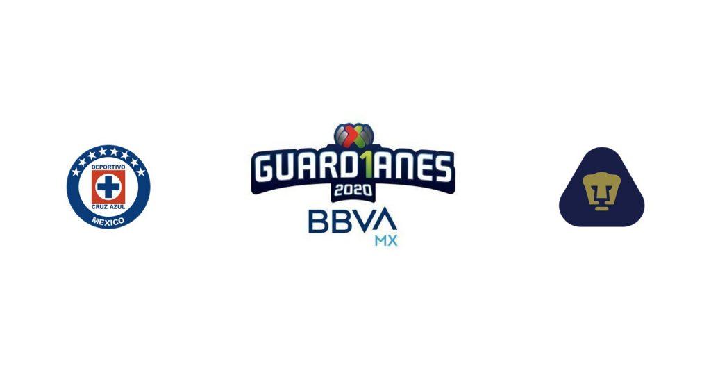 Cruz Azul vs Pumas UNAM Previa, Predicciones y Pronóstico