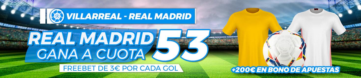 Megacuota Madrid gana Villarreal