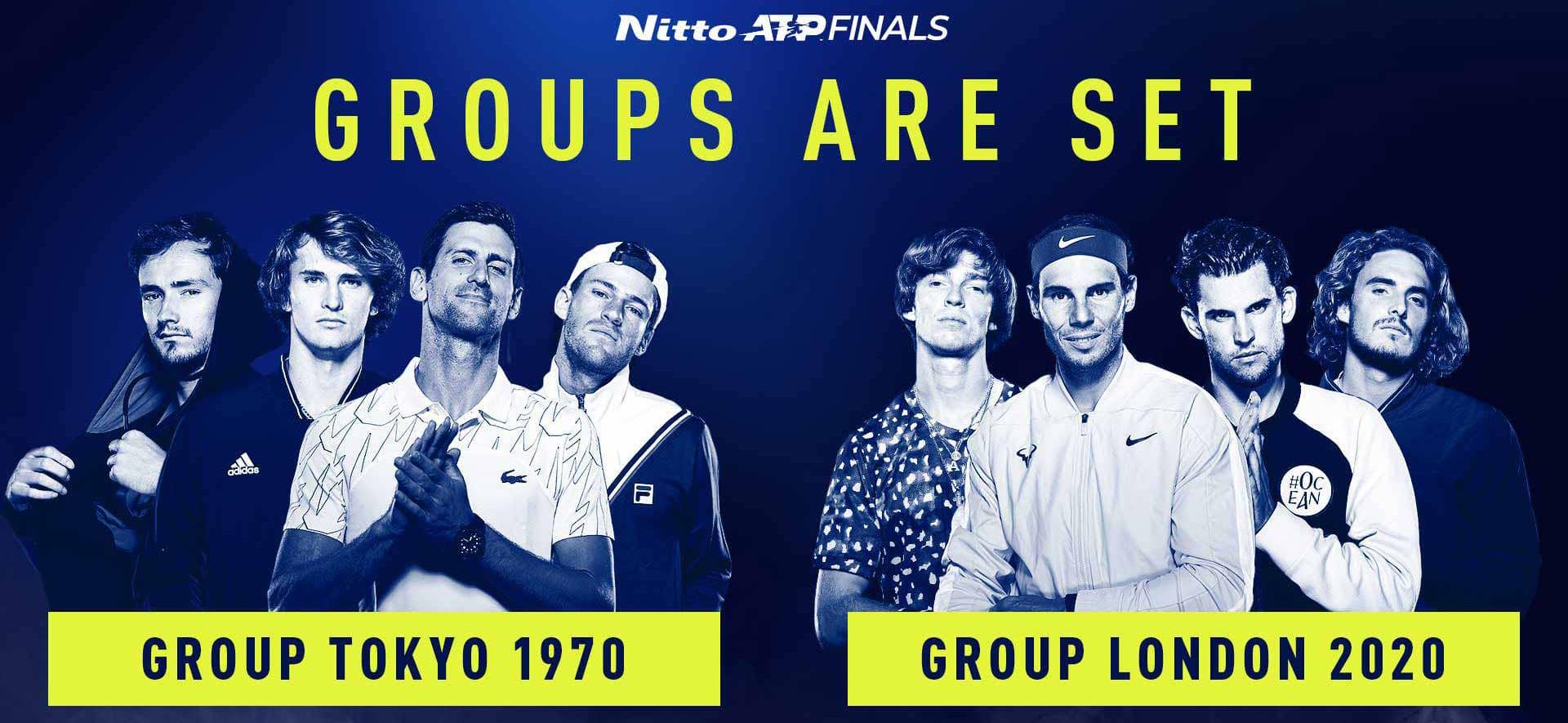 Nitto ATP Finals Grupos