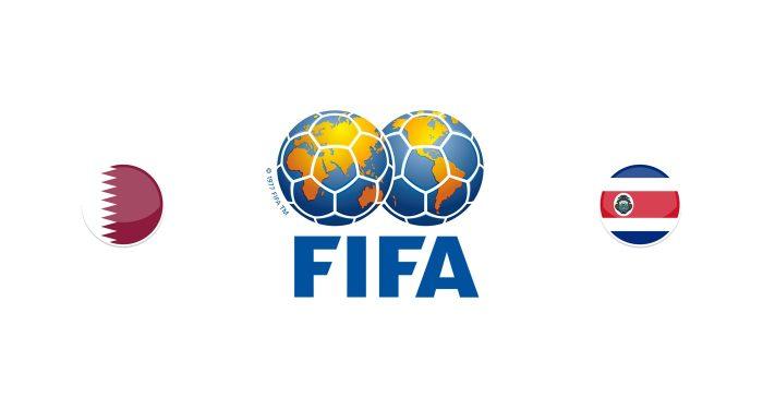 Qatar vs Costa Rica Previa, Predicciones y Pronóstico