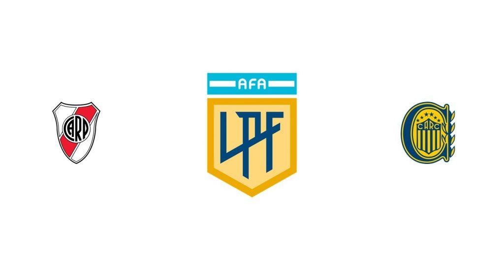River vs Rosario Central Previa, Predicciones y Pronóstico