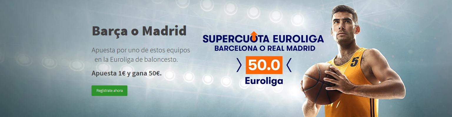 Supercuota doble Barca o Madrid