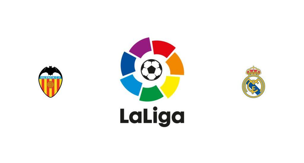 Valencia vs Real Madrid Previa, Predicciones y Pronóstico