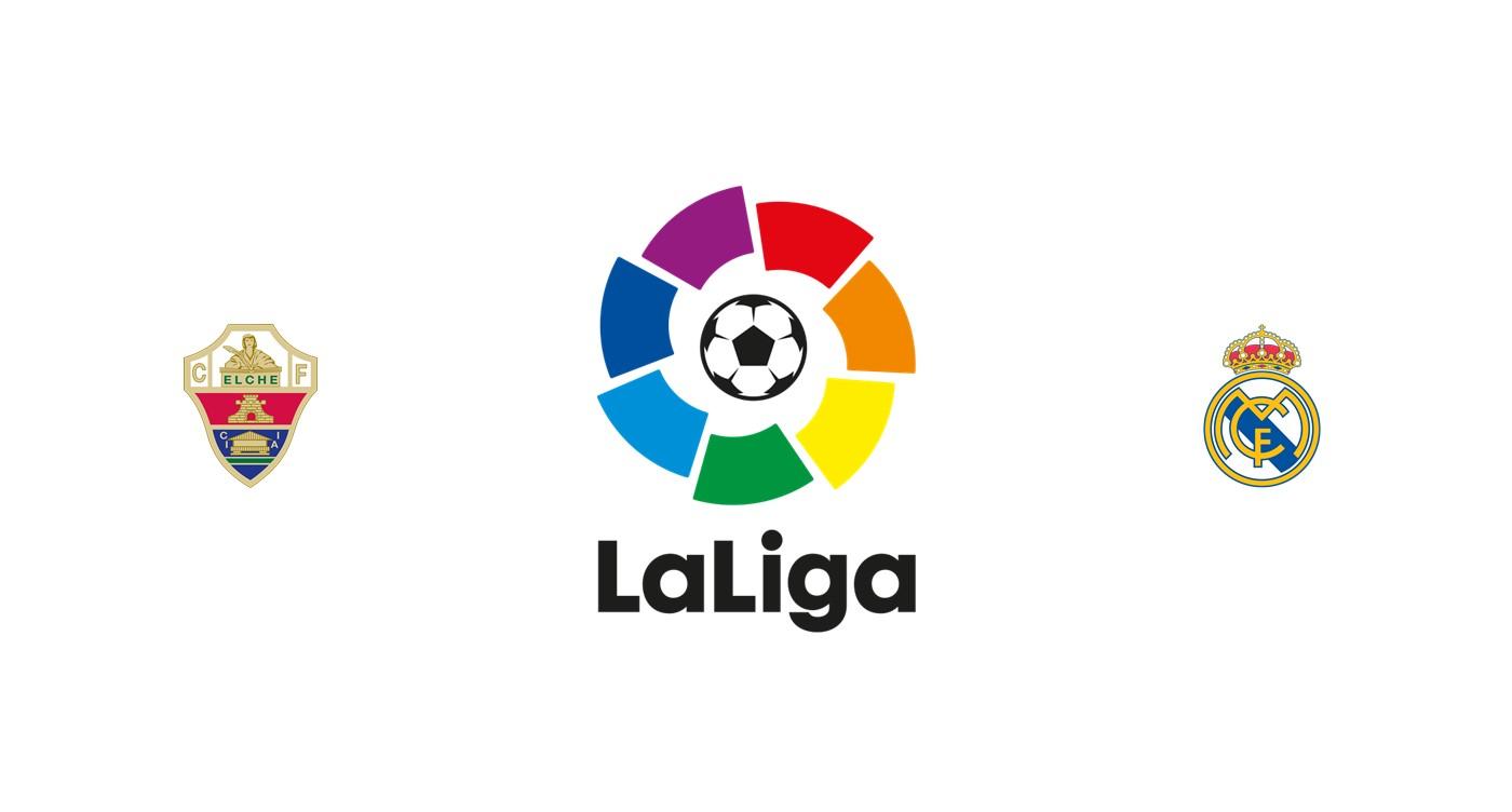 Elche vs Real Madrid