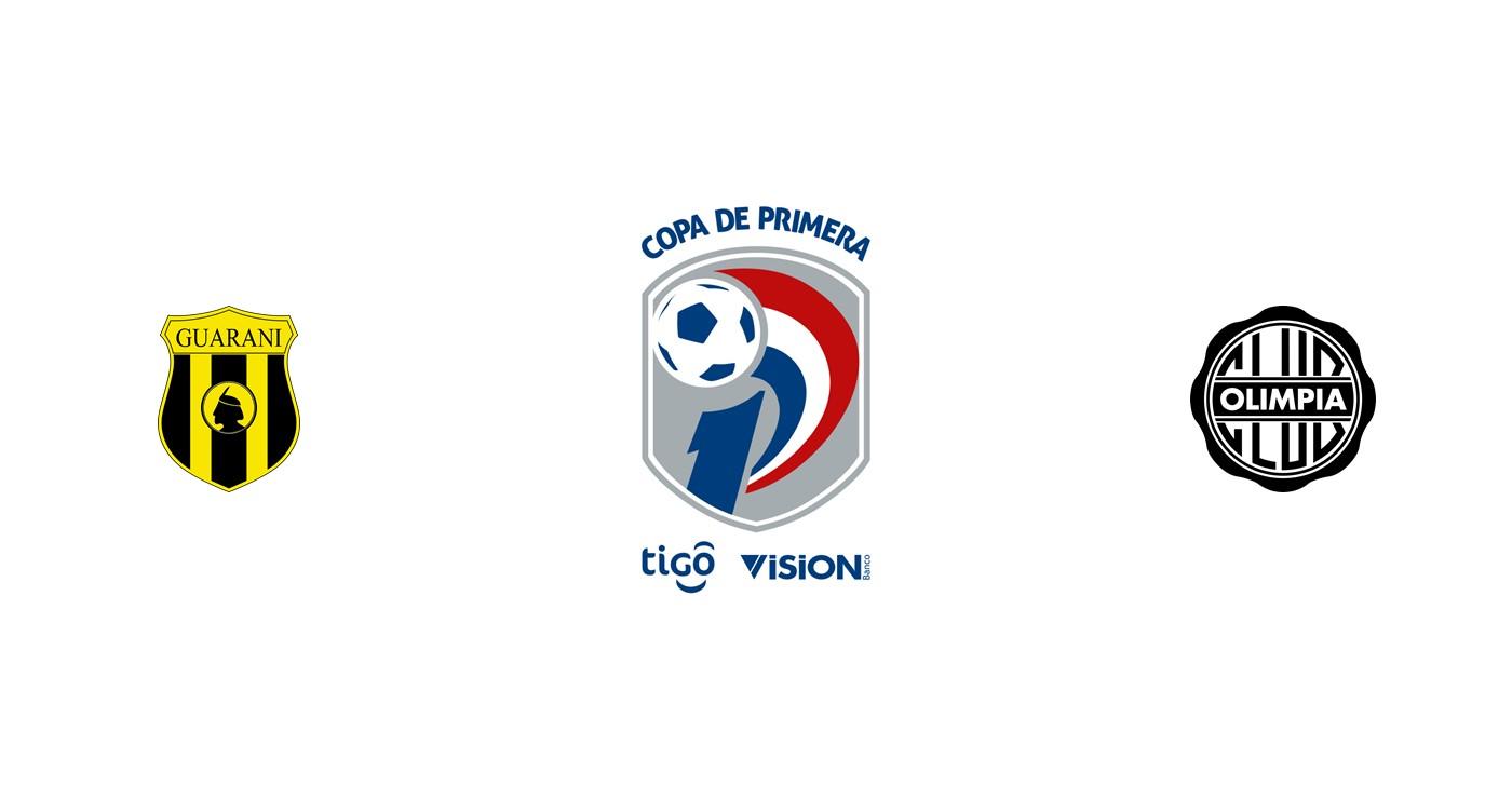 Guaraní vs Club Olimpia