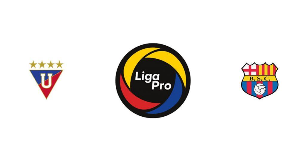 LDU Quito vs Barcelona Previa, Predicciones y Pronóstico