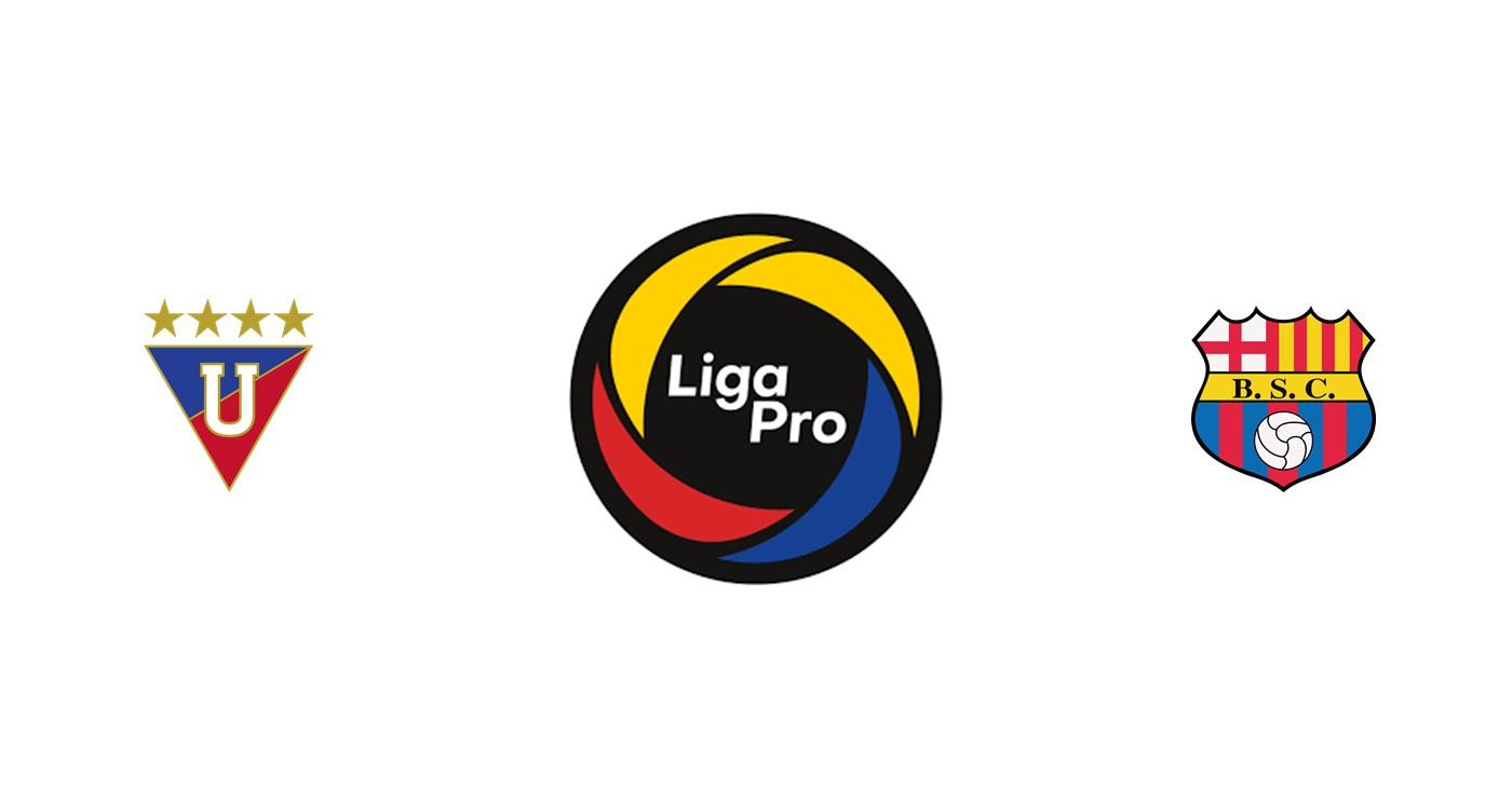 LDU Quito vs Barcelona
