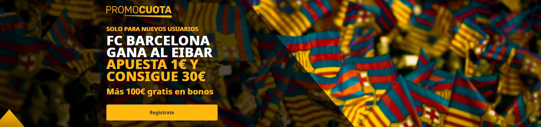 Promocuota Barcelona supera a Eibar