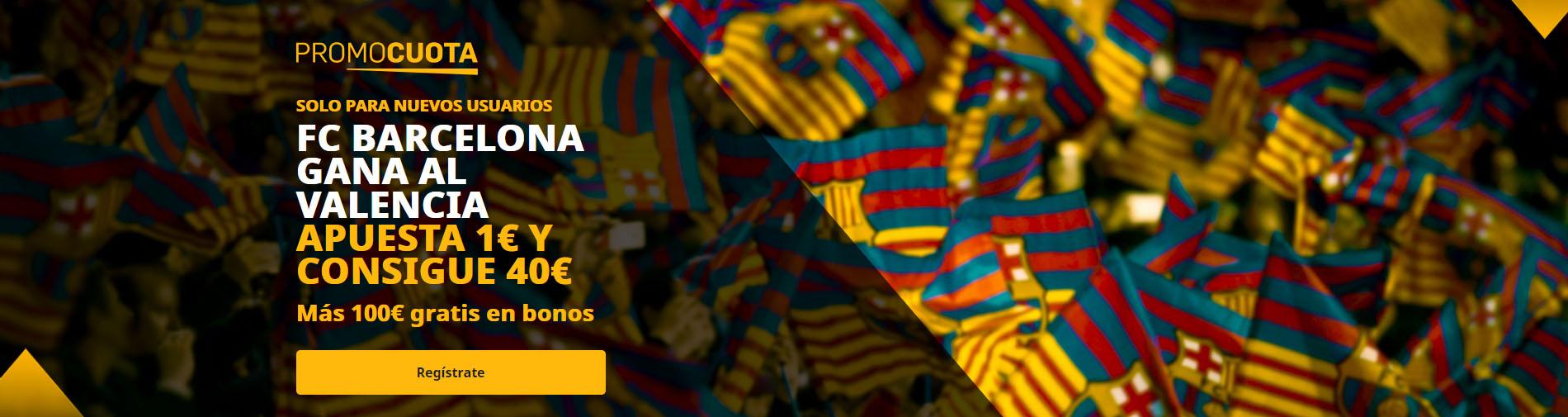 Promocuota Barcelona vence al Valencia